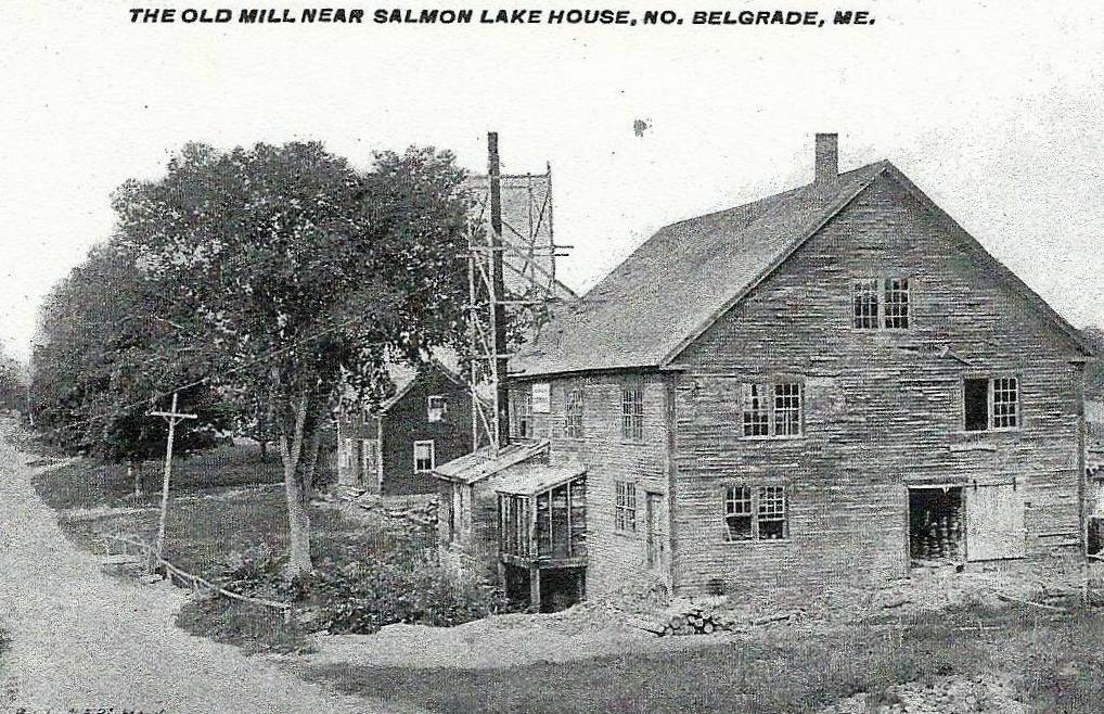 Large numbers of barrels and boxes were required to ship Belgrade's apples, potatoes and corn to market. William Withers operated a mill near the dam in North Belgrade that produced them for farmers.