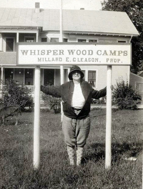 Early days at Whisperwood
