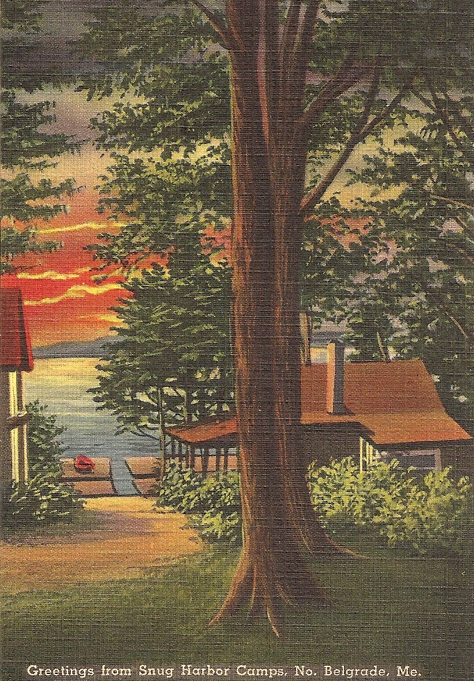 Snug Harbor Postcard