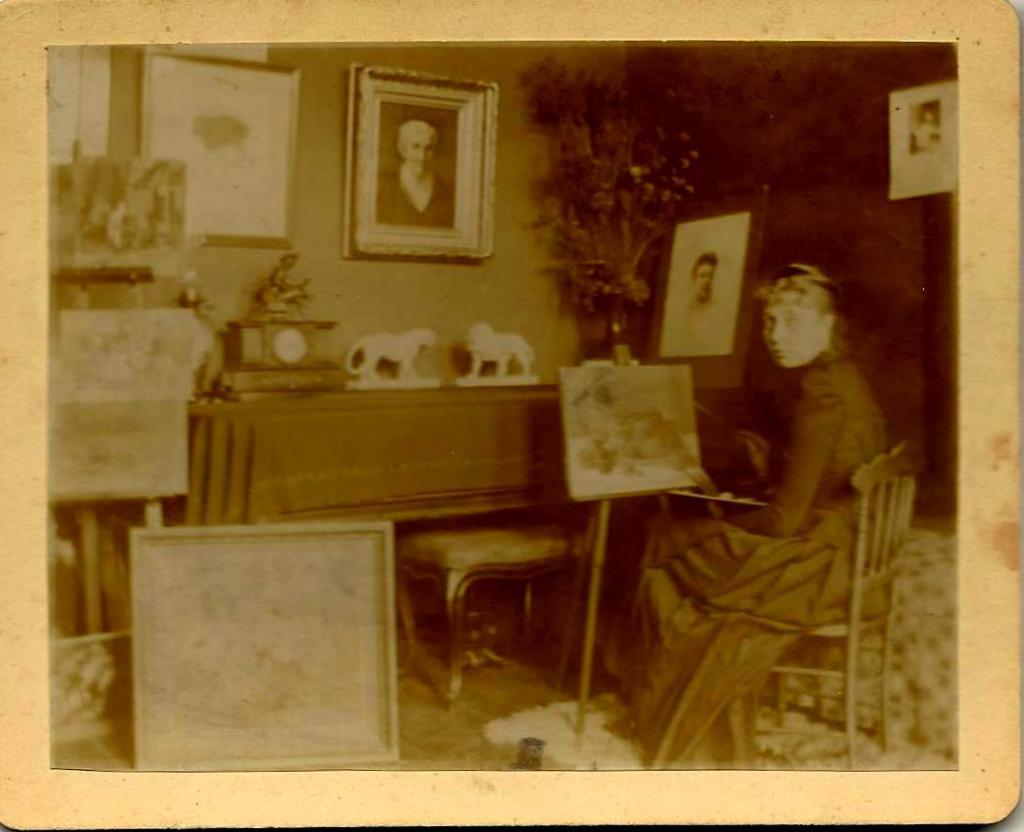 Belgrade artist Blanche Minot