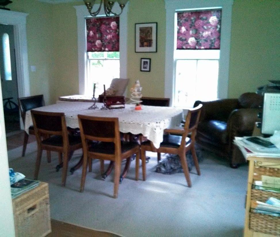 Carlson's dining room