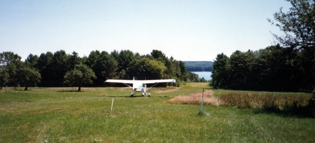 Burbank house - Rene Burdet's airplane