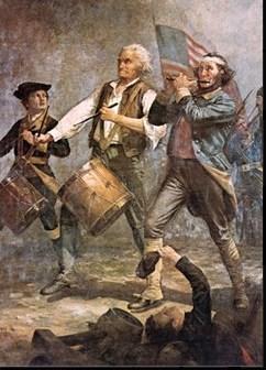 Revolutionary War fifes & drums