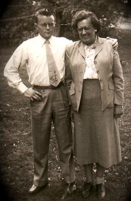 David Yeaton with his mother, Anne Yeaton Photo courtesy of the Yeaton family